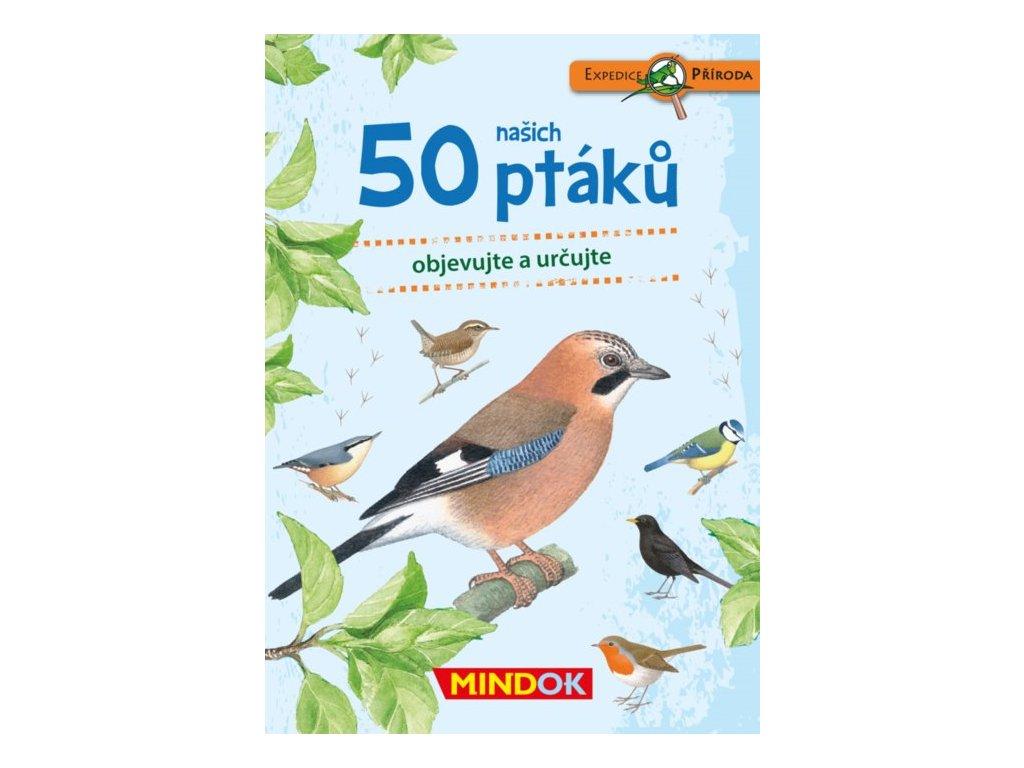 expedice priroda 50 nasich ptaku přednístrana