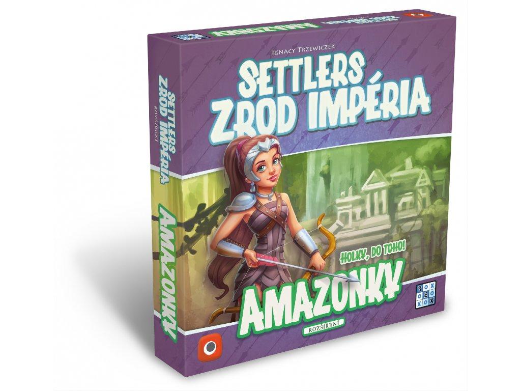 Settlers rozšíření Amazonky