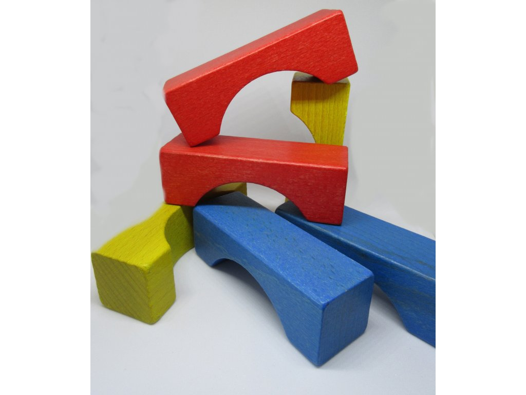 Kostkoviště - most barva 25 ks