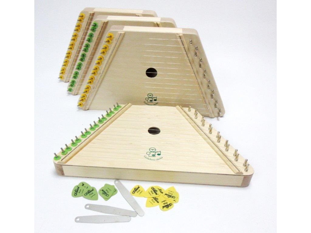 Gerlichova citerka - dětský hudební nástroj