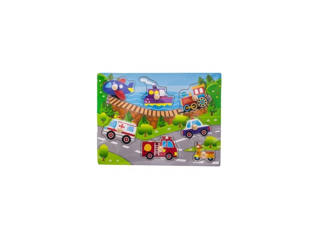 80352 127061 drevene zabavne puzzle vkladaci euro baby transport