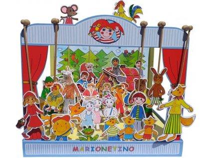loutkové divadlo Marionetino 30 ks
