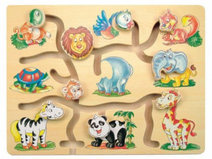120088 204748 woody dreveny posouvaci labyrint fantasticka zviratka zoo