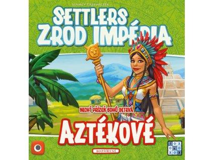 Aztékové rozšíření hry Settlers