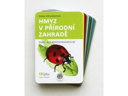 Hmyz v přírodní zahradě knížka do kapsy