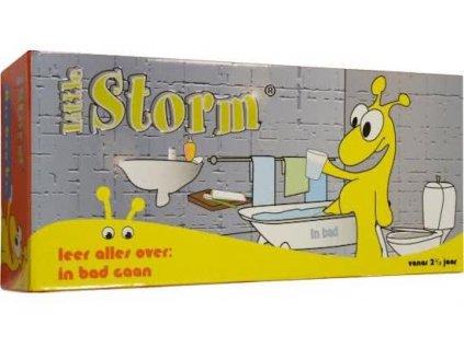 Little Storm - v koupelně