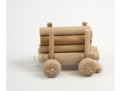 Vagonek se dřevem V5