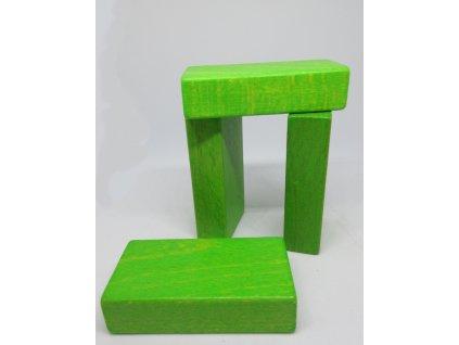 Kostkoviště - deska malá barva 50 ks