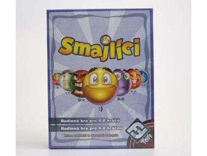Smajlíci, karetní hra pro celou rodinu