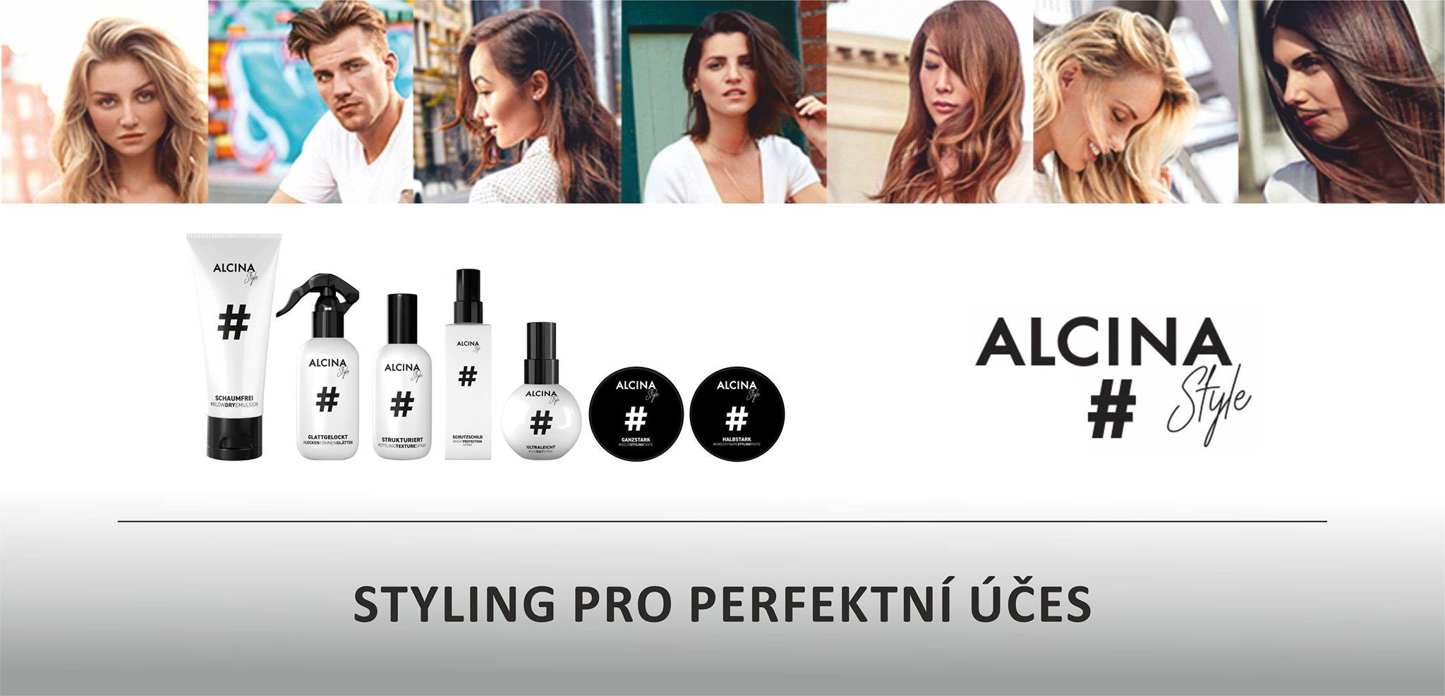 Alcina Style - styling pro perfektní účes