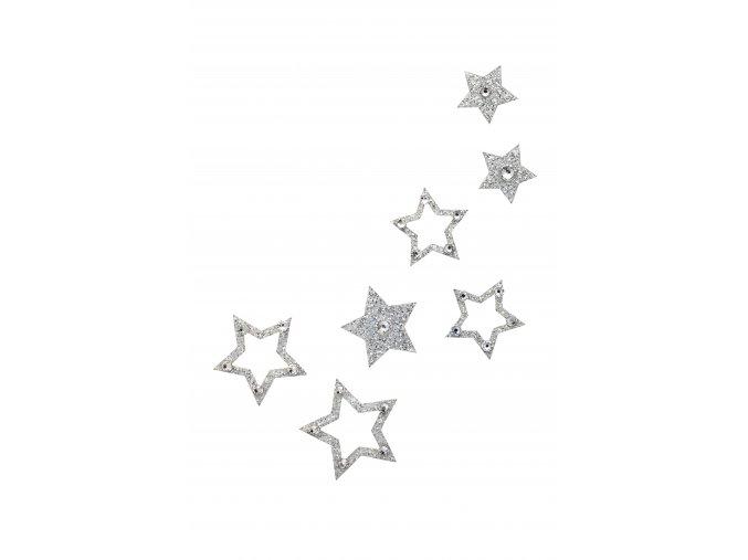Nalepovací šperky SO.nia FAME Hvězdičky na tělo a vlasy 1016052