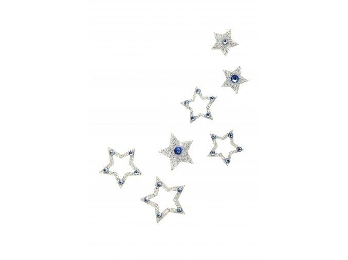 Nalepovací šperky SO.nia FAME Hvězdičky na tělo a vlasy 1016055