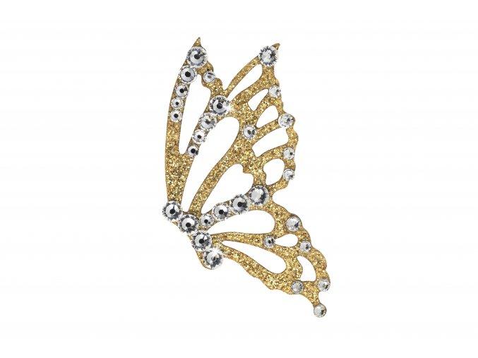 Nalepovací šperky SO.nia FREEDOM Motýl na tělo i vlasy 1016042