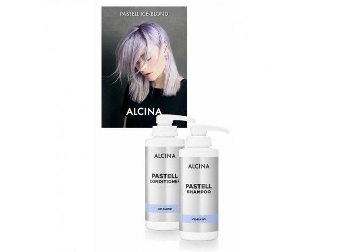 alcina pastell shampoo+codicioner ice blond 500ml