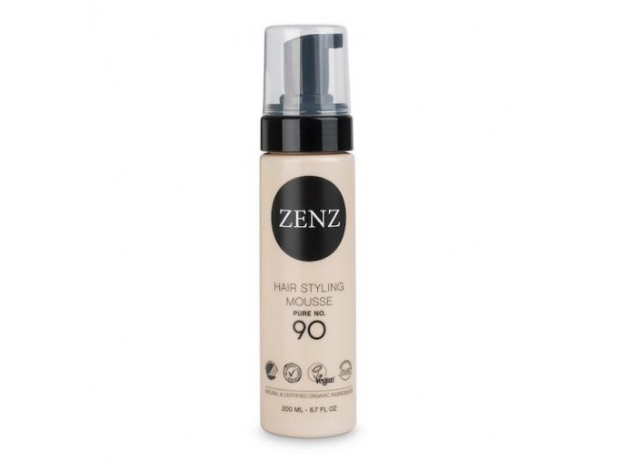 ZENZ NO.90 HAIR STYLING MOUSSE PURE - EXTRA VOLUME 200ml