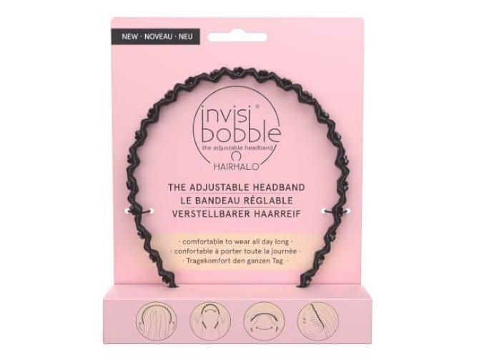 invisibobble nastavitelna celenka do vlasu hairhalo true dark sparkle 1468579420201111161120