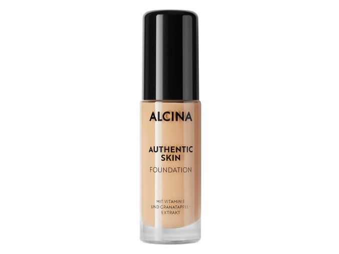 Alcina Authentic Skin Foundation Medium 28,5 ml make-up