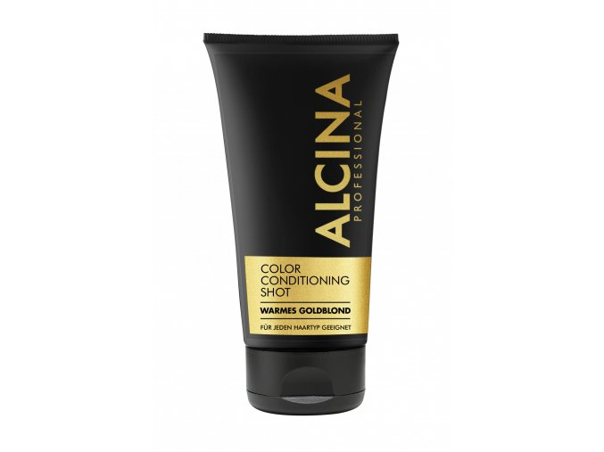 alcina color conditioning shots gold