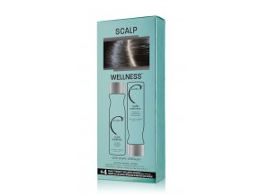 MALIBU SCALP WELLNESS® COLLECTION ŠAMPON 266 ML, KONDICIONER 266 ML, 5 X WELLNESS SÁČEK dárková sada  + Maska na ruce Kocostar