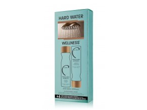 MALIBU HARD WATER WELLNESS® COLLECTION ŠAMPON 266 ML, KONDICIONER 266 ML, 4 X WELLNESS SÁČEK dárková sada  + Maska na ruce Kocostar