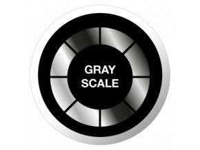 gobo odstiny sedi foto grayscale sklenene