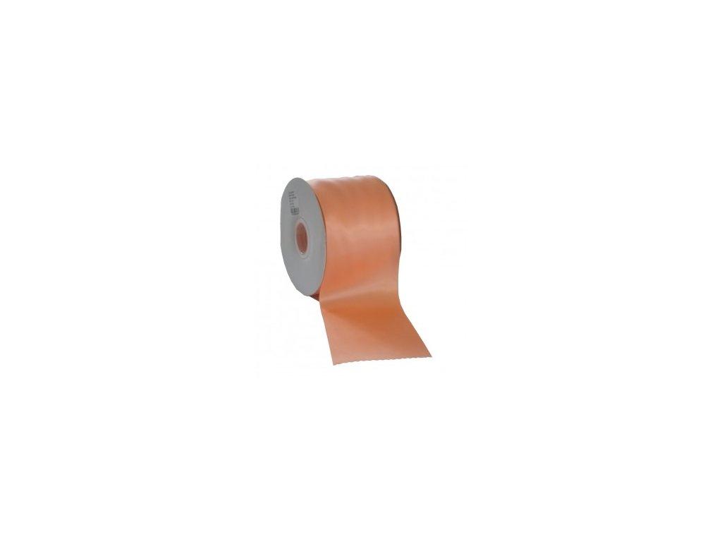 Stuha 75 mm x 50 m oranžová
