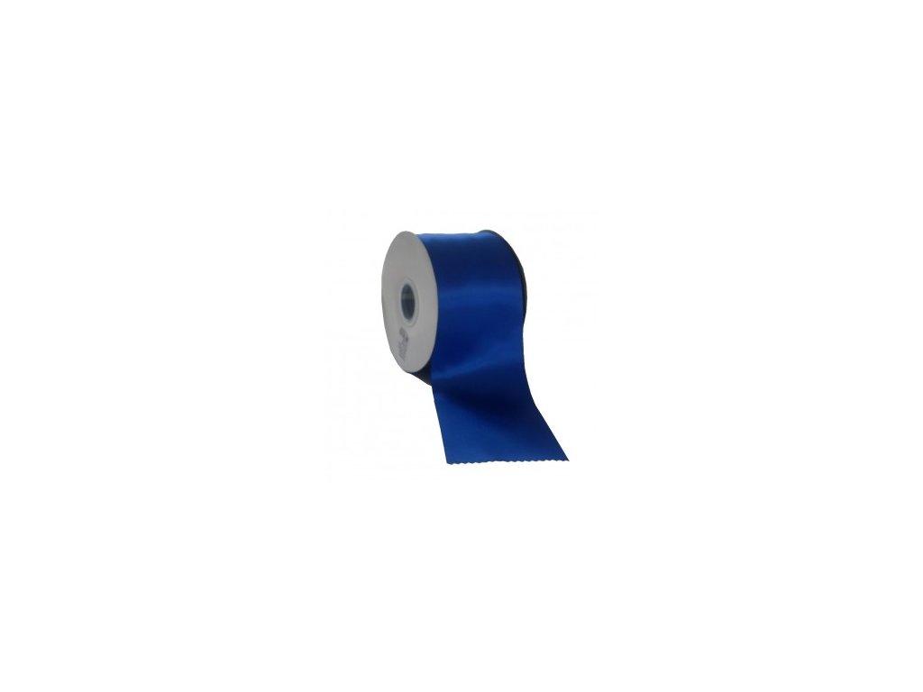 Stuha 89 mm x 50 m modrá tmavá