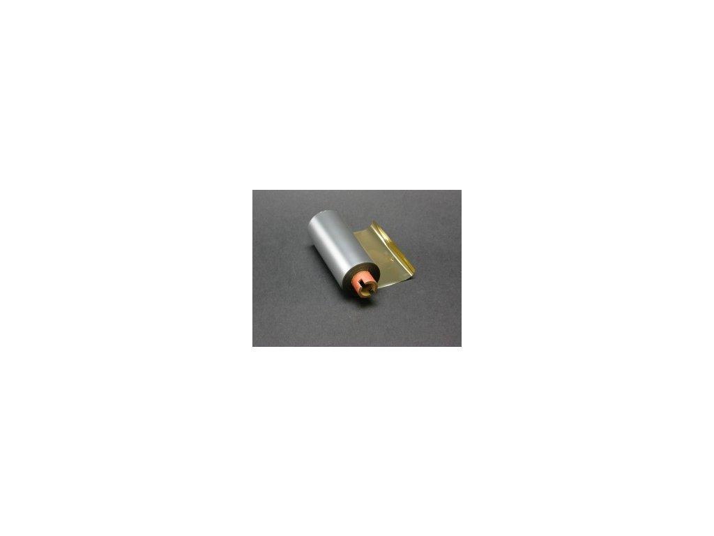 Termotransferová páska 82 mm x 70 m METAL GOLD