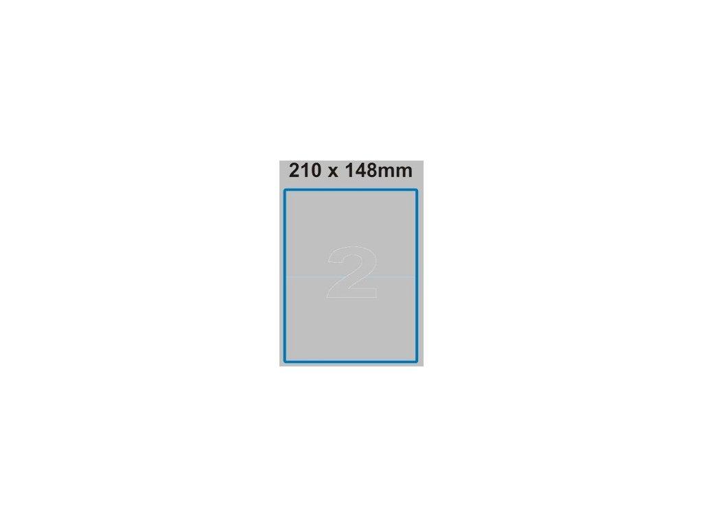 Etiketa 210 x 148 mm