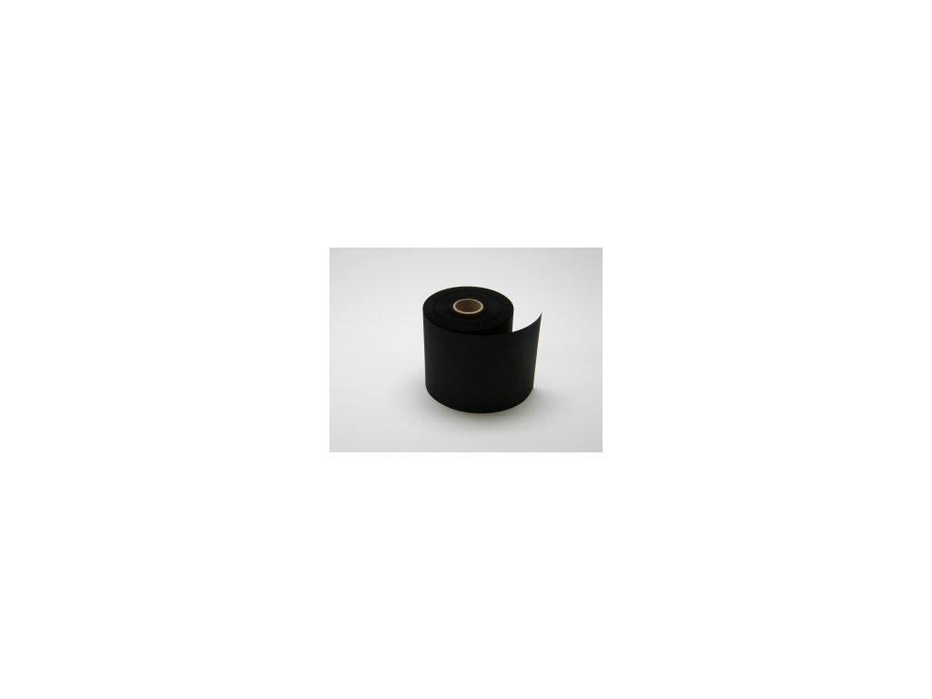 Stuha 70 mm, černá