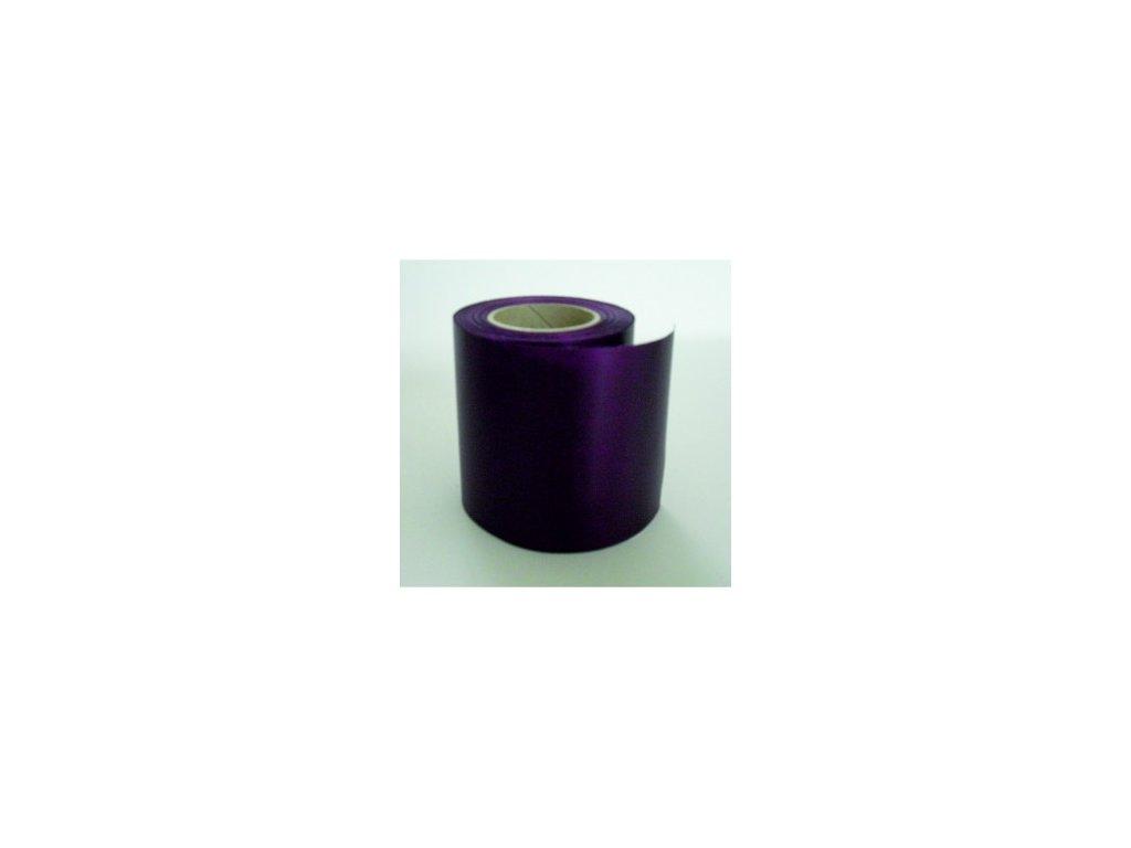 Stuha 100 mm x 25 m - fialová tmavá