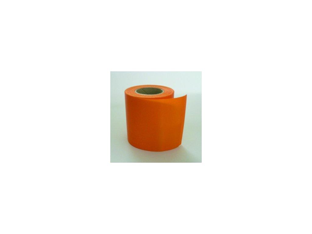 Stuha 100 mm x 25 m - oranžová