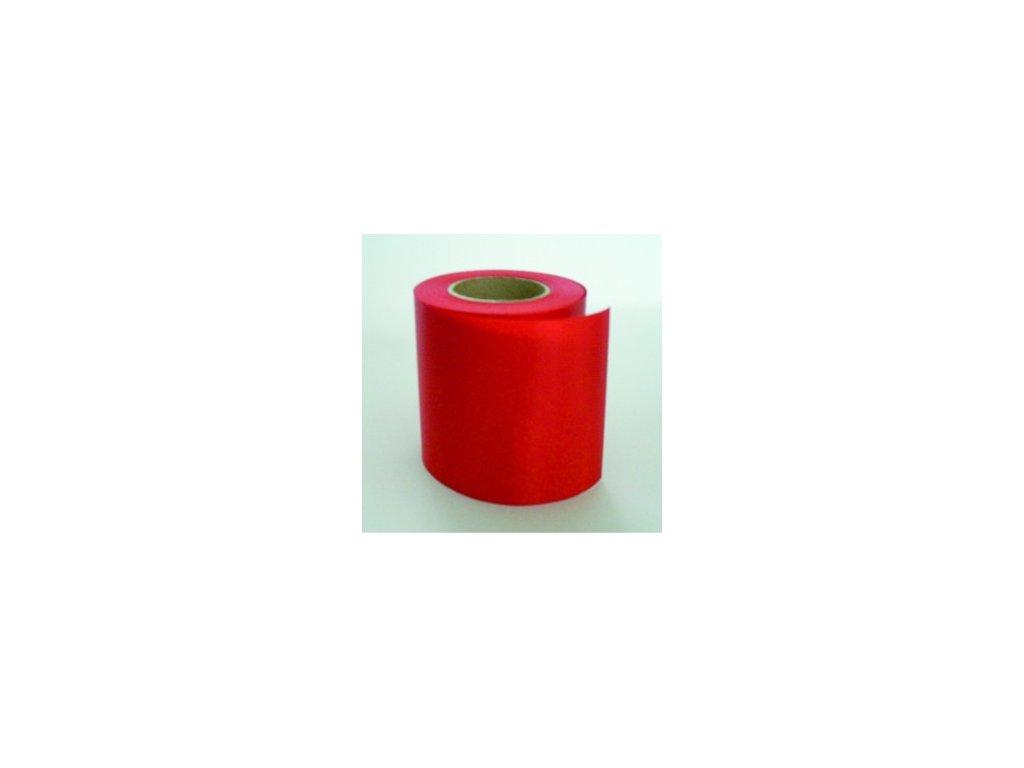 Stuha 75 mm x 25 m - červená