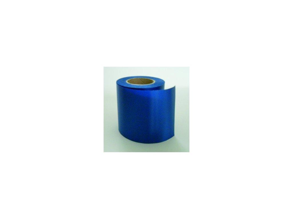 Stuha 75 mm x 25 m - modrá tmavá