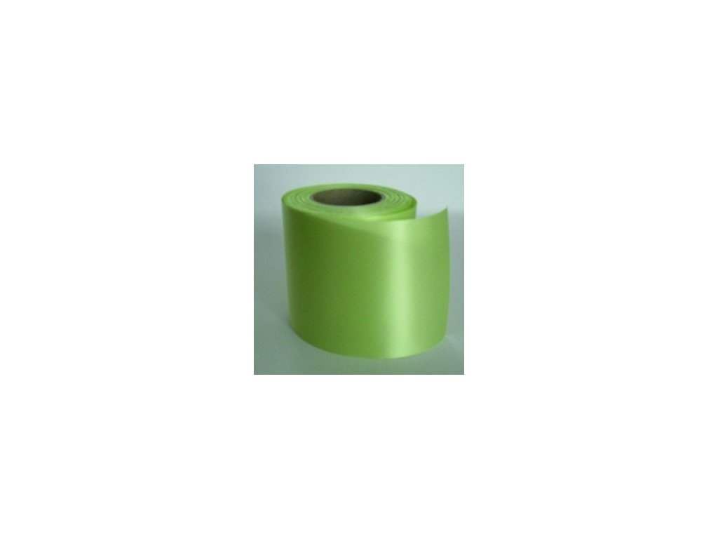 Stuha 75 mm x 25 m - zelená světlá