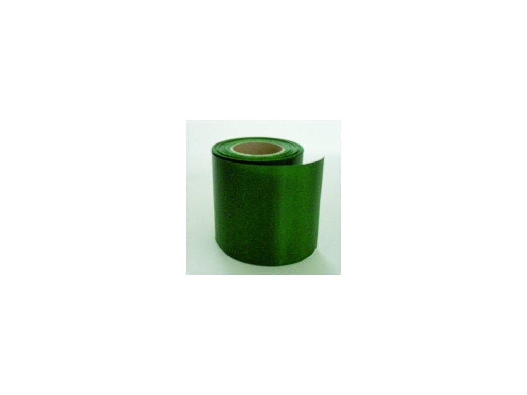 Stuha 75 mm x 25 m - zelená tmavá