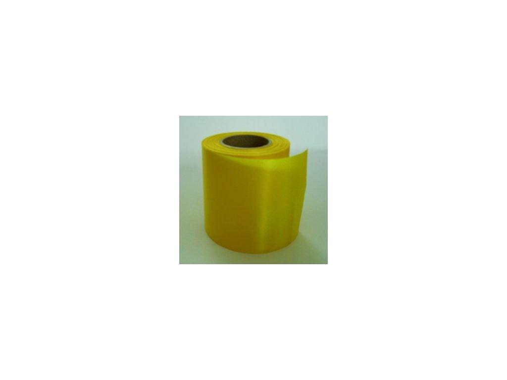 Stuha 75 mm x 25 m - žlutá