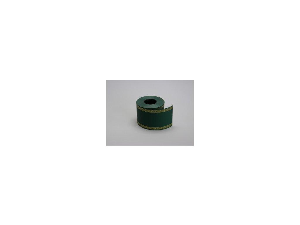 Stuha 75 mm x 50 m, zelená