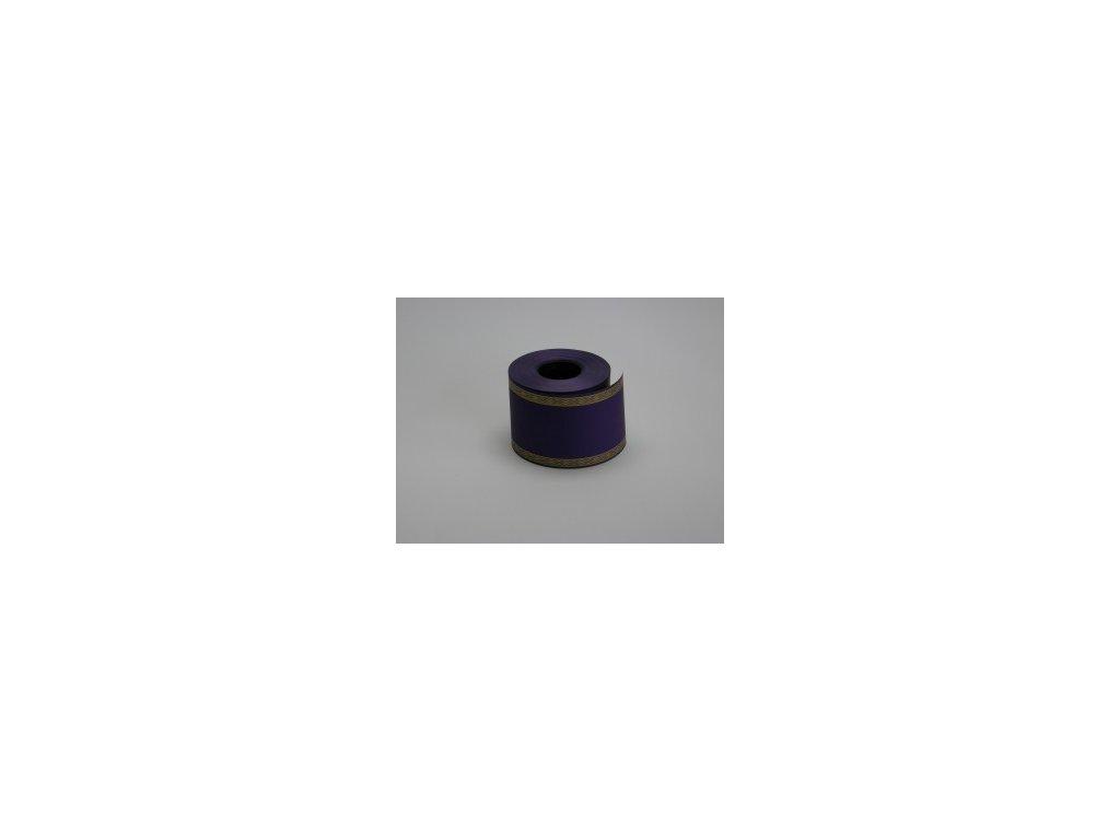 Stuha 75 mm x 50 m, fialová