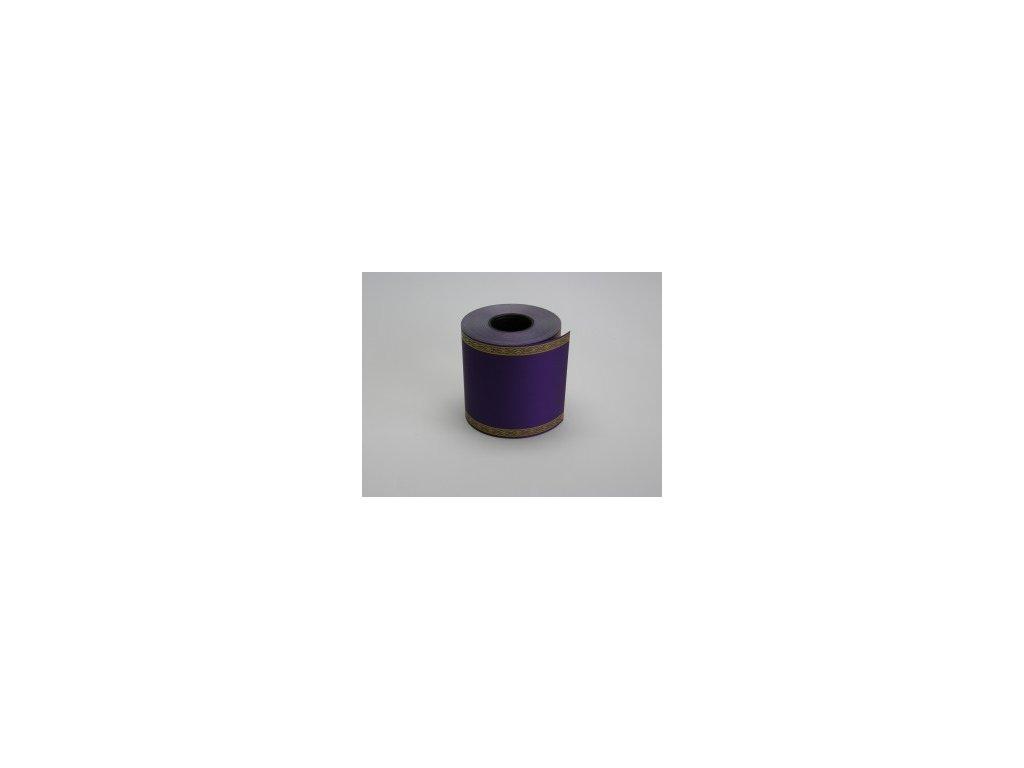 Stuha 100 mm x 50 m, fialová