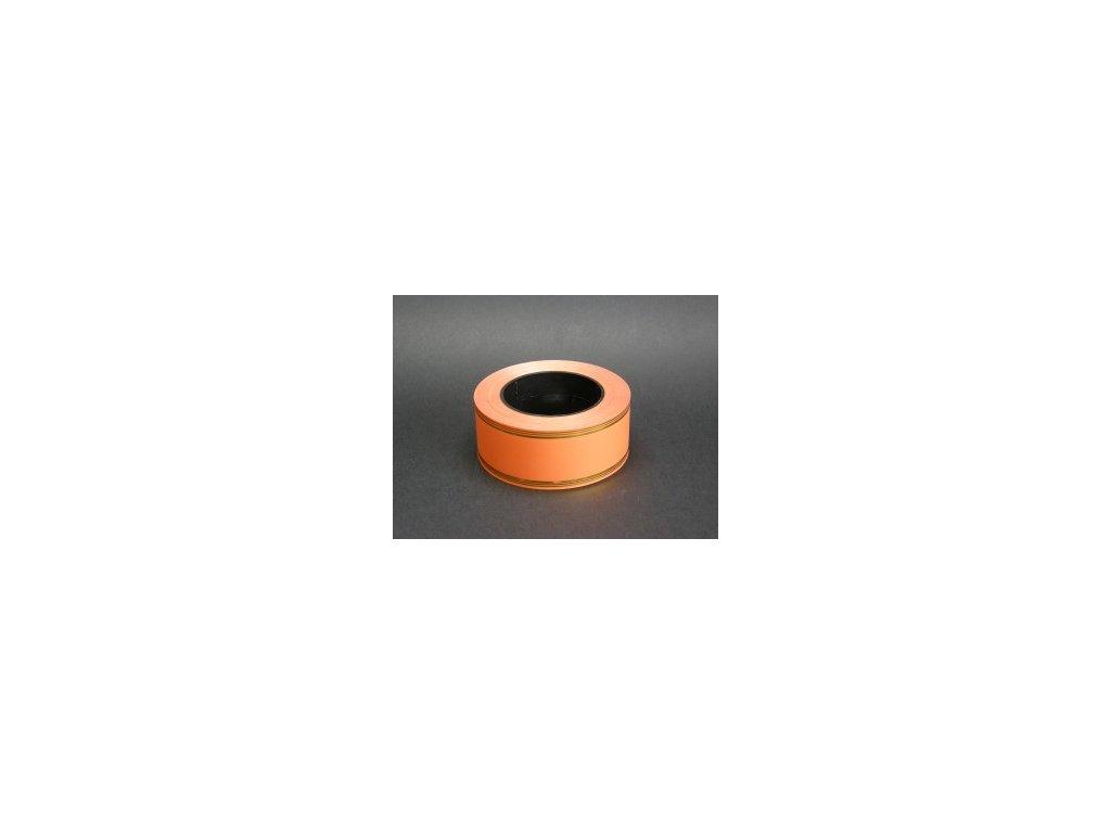 Stuha 50 mm x 50 m - oranžová