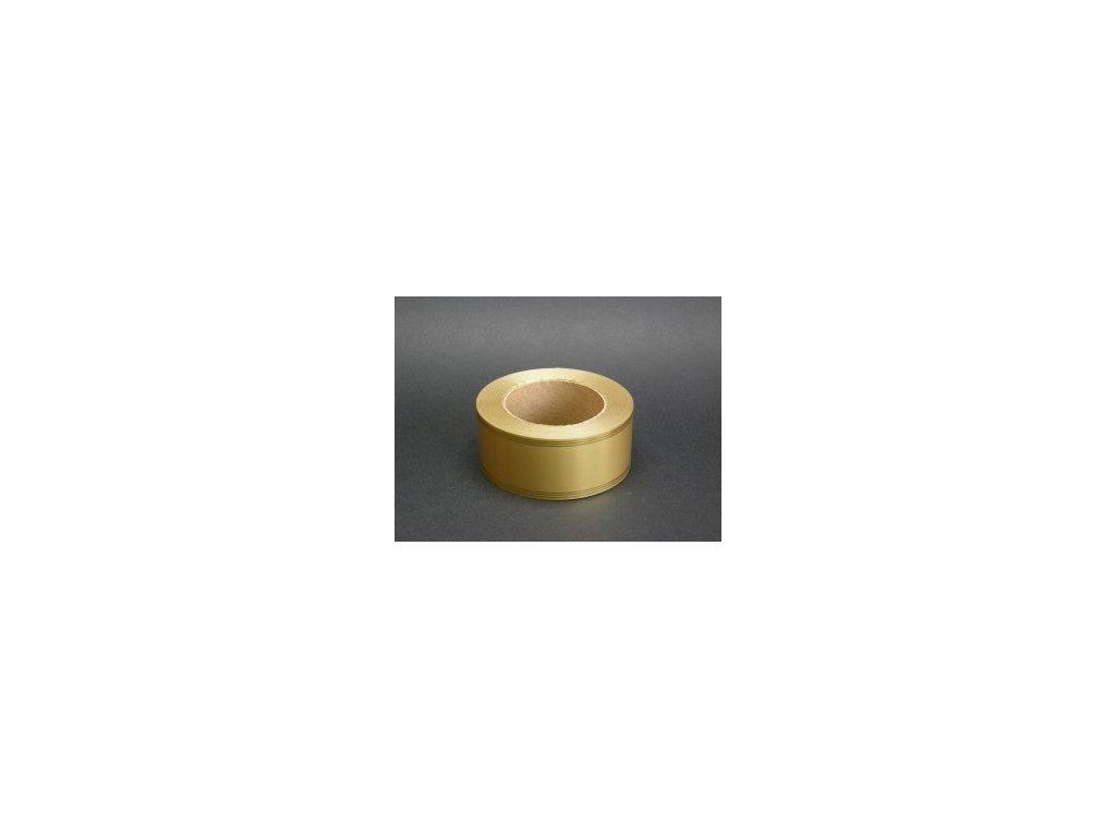 Stuha 50 mm x 50 m - zlatá