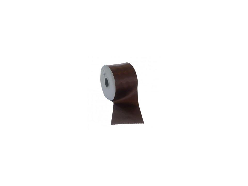Stuha 75 mm x 50 m čokoládová