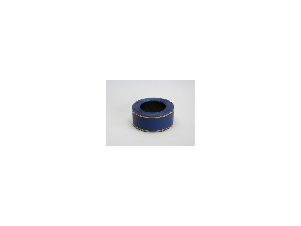 Stuha 50 mm x 50 m - modrá