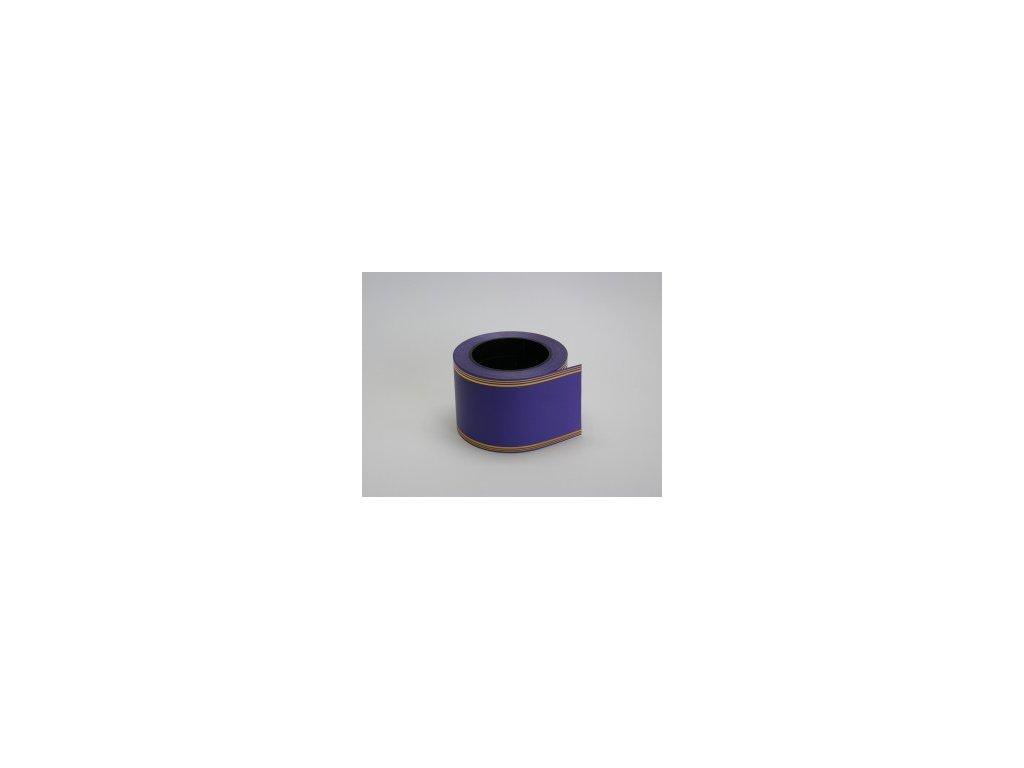 Stuha 80 mm x 50 m - fialová