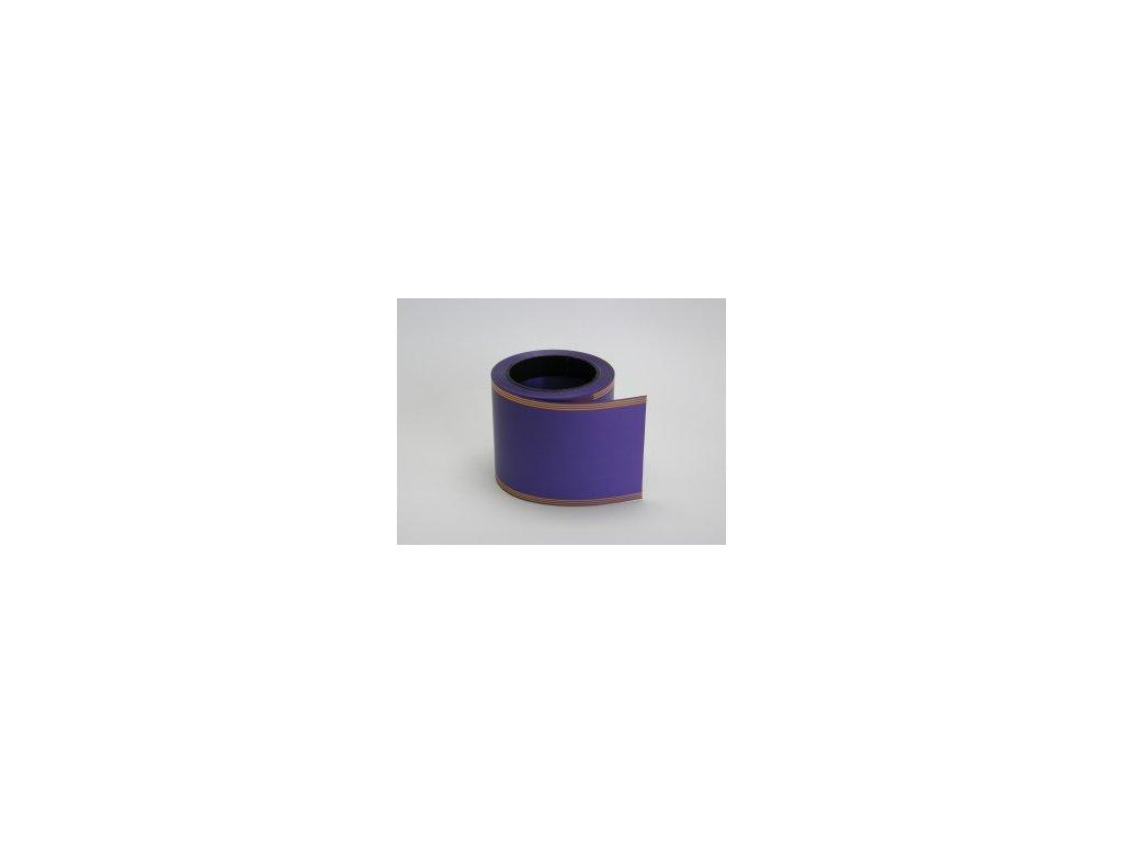 Stuha 100 mm x 50 m - fialová tmavá