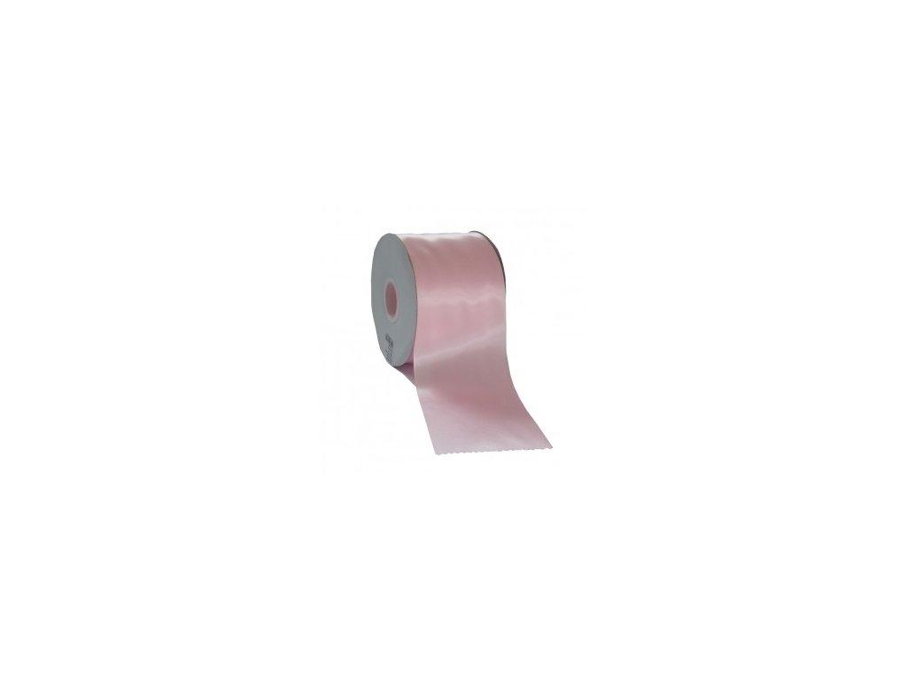 Stuha 75 mm x 50 m růžová