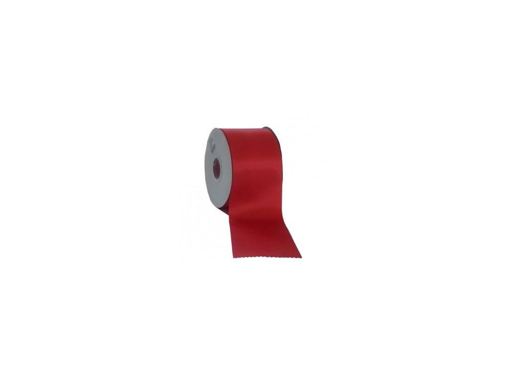 Stuha 75 mm x 50 m červená