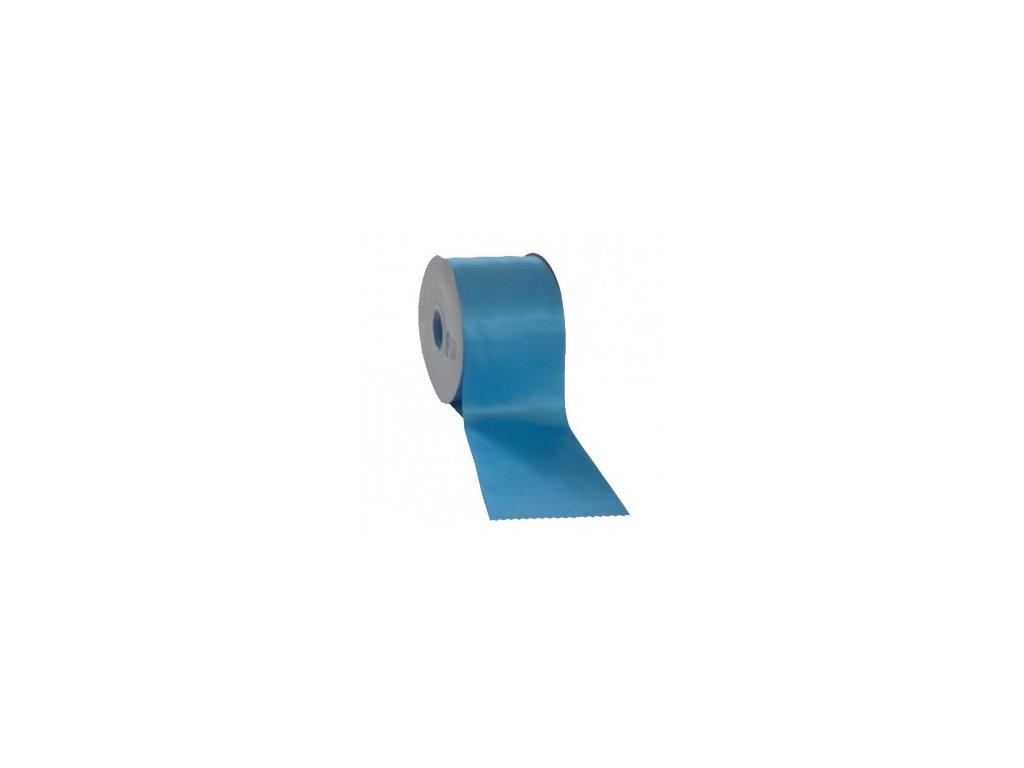 Stuha 75 mm x 50 m modrá světlá