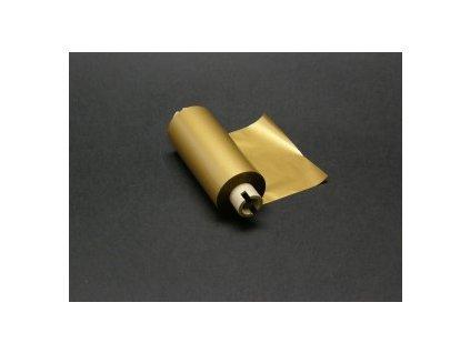 Termotransferová páska 82 mm x 70 m MAT GOLD